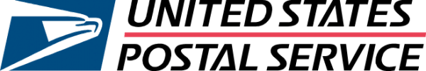 blue eagle logo of the United States Postal Service