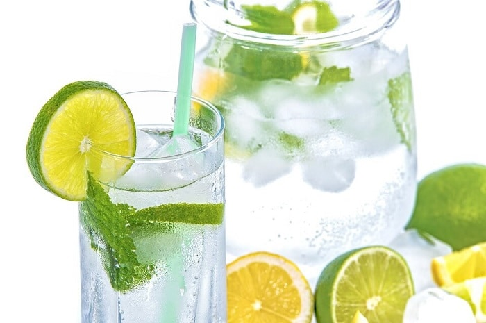 zephyrhills water with lemon and lime