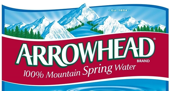 arrowhead water delivery logo