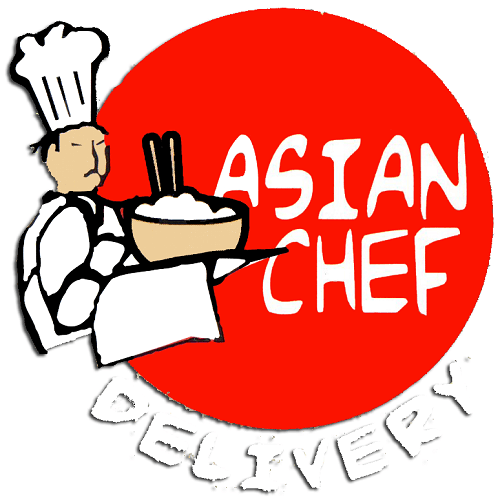 logo for asian chef delivery