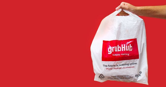 Grubhub Delivery bag