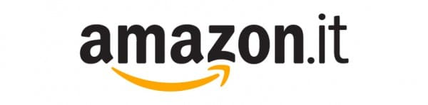 black and yellow logo of estore Amazon