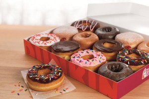 fast food delivery dunkin' donuts