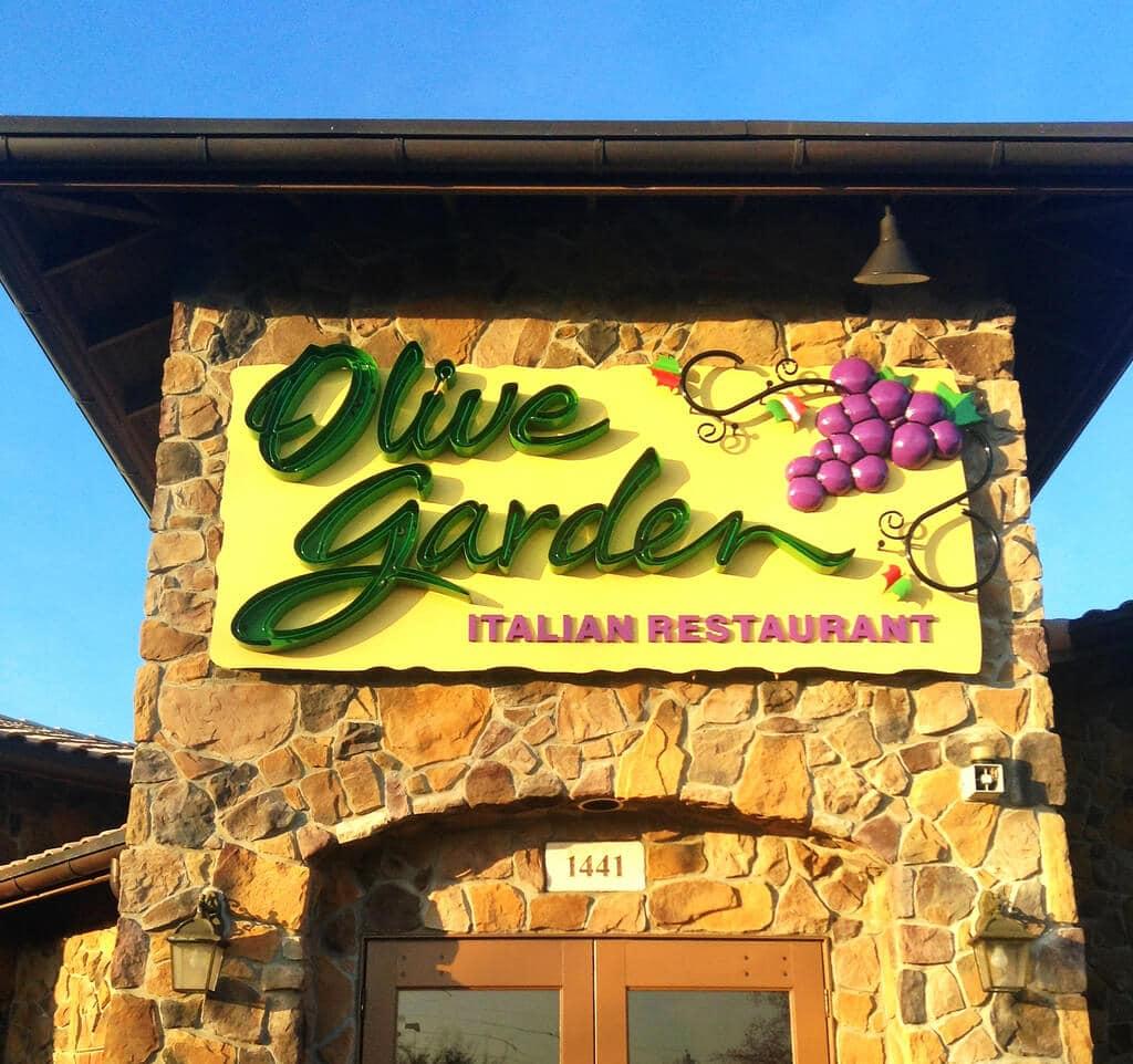 olive garden delivery restaurant