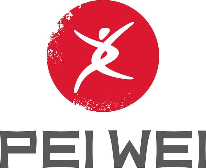pei wei logo red and gray