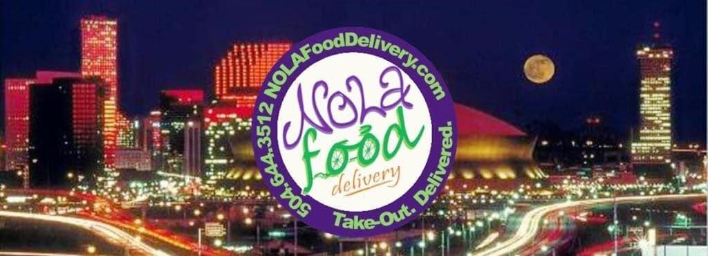 nola food delivery logo