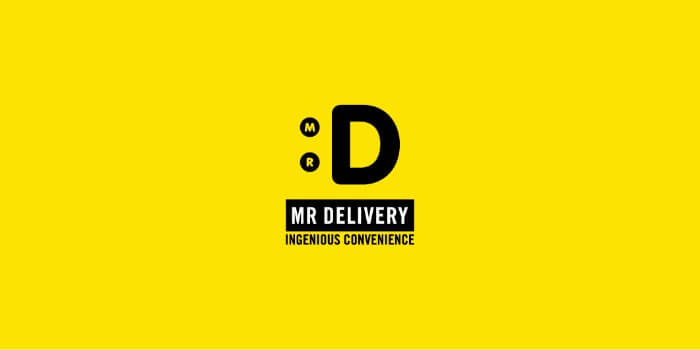 mr delivery logo