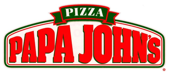 papa johns logo wide