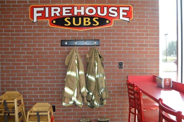 firehouse subs inside