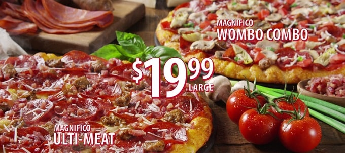 two Round Table pizzas and a Round Table offer