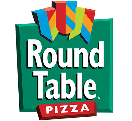 the Round Table Pizza Delivery logo on a white background