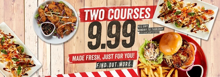 a TGI Friday's menu promotional offer