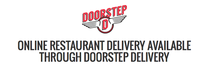 Doorstep Delivery logo and motto