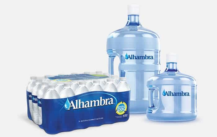 Alhambra water products