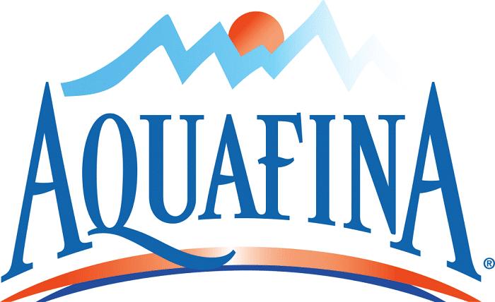 Aquafina water logo