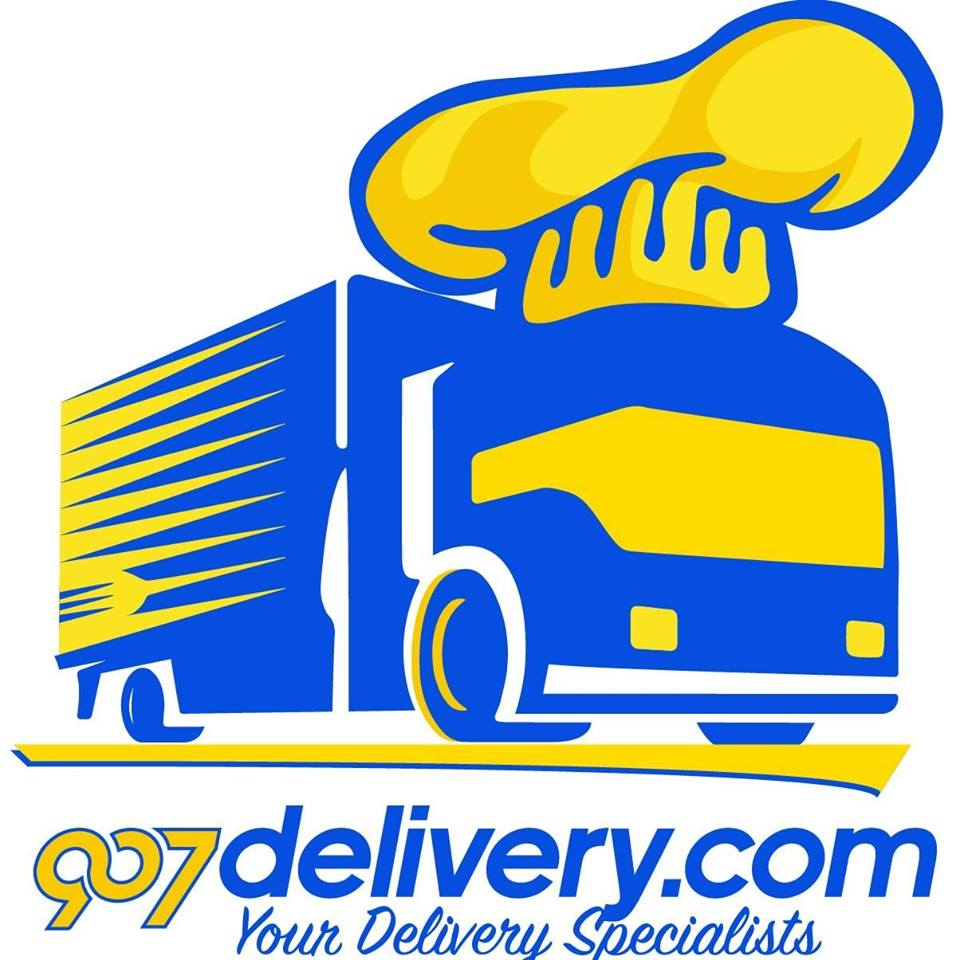 907 Delivery logo
