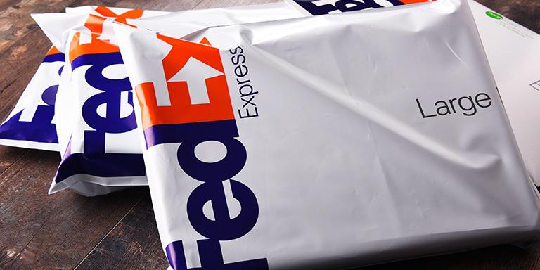 FedEx SmartPost parcel