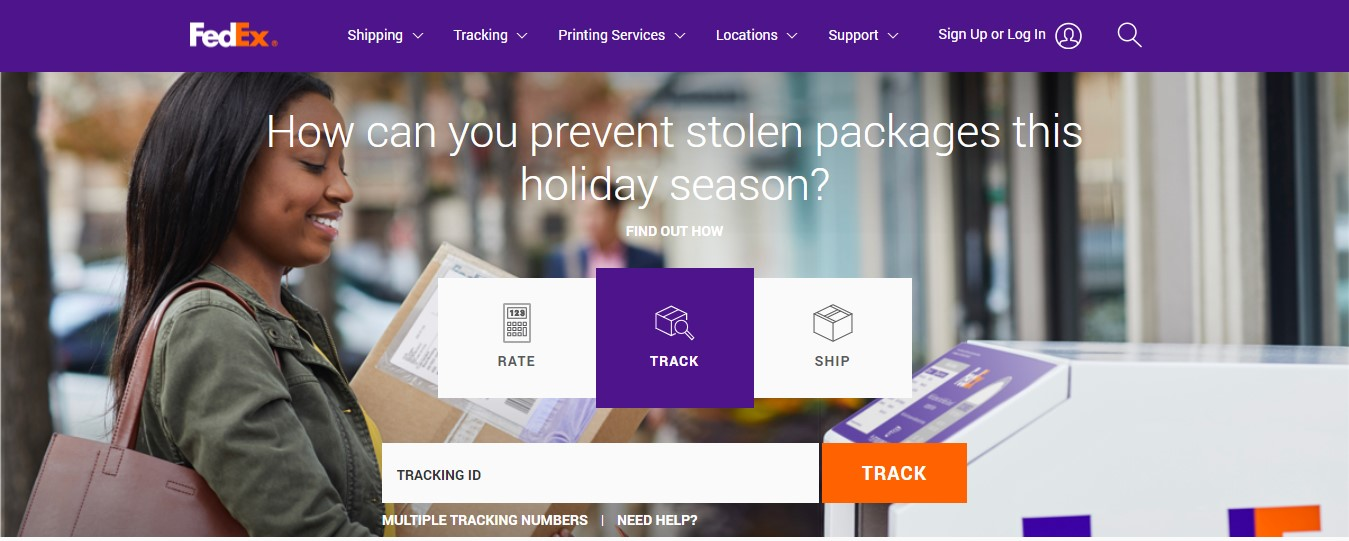 FedEx Express Site