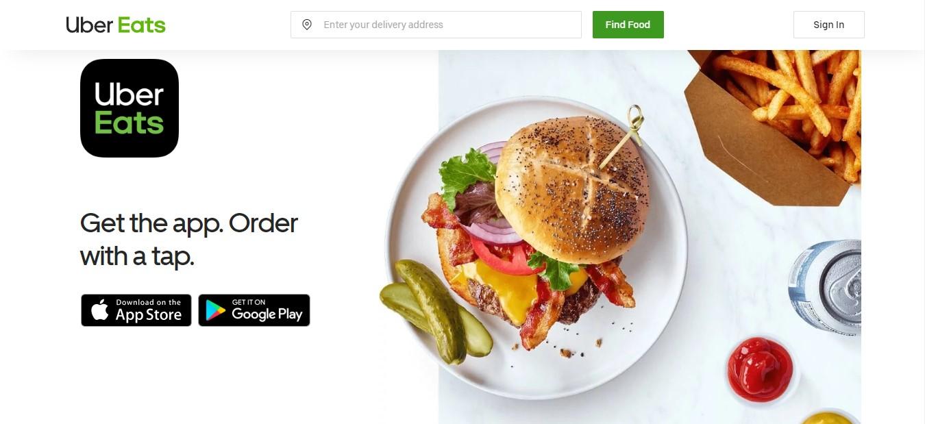 Popeyes uber eats menu
