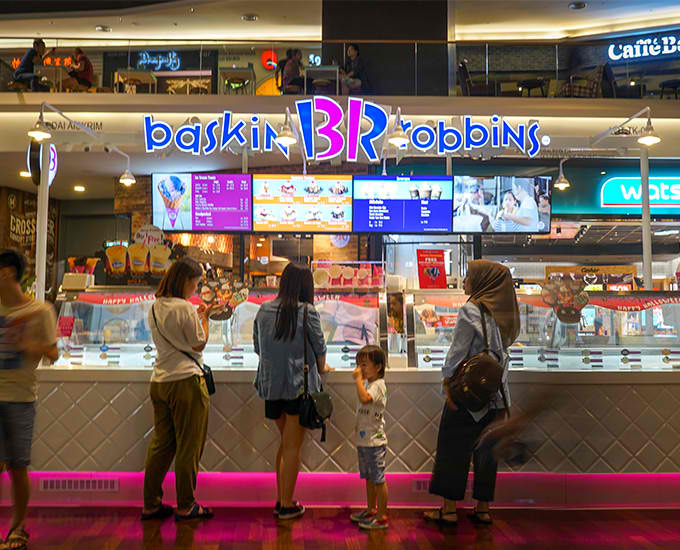 Baskin Robbins Locations